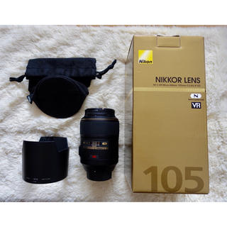 Nikon - フィルタ付/Nikon AF-S VR Micro 105mm f2.8G ED