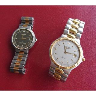 ロンジン(LONGINES)のロンジン コンクエスト メンズ クォーツ(腕時計(アナログ))