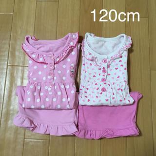 ニシマツヤ(西松屋)のパジャマ 120cm 2着セット(パジャマ)