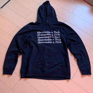 アバクロンビーアンドフィッチ(Abercrombie&Fitch)のabercrombie&fitch 黒 ロサンゼルス(パーカー)