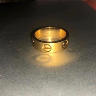 ゴールドリング  (リング(指輪))