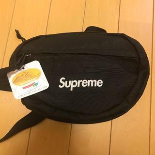 シュプリーム(Supreme)のSupreme 18AW waist bag 黒 ウエストバッグ (ウエストポーチ)