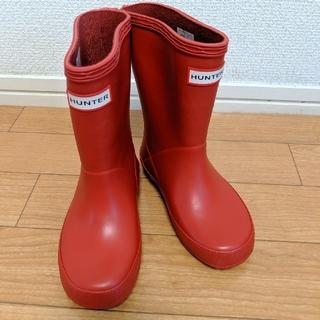 ハンター(HUNTER)のHUNTER ハンター キッズ レインブーツ 長靴 UK8/15.5センチ(長靴/レインシューズ)