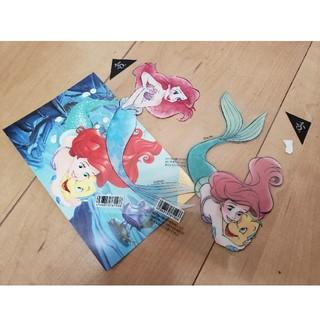Disney - アリエルのシール・絵はがきセット