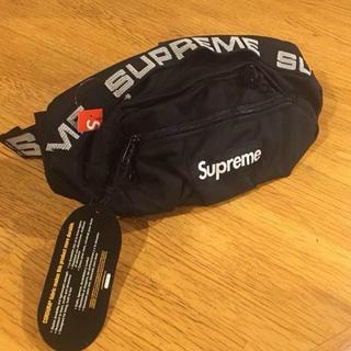 シュプリーム(Supreme)のSupreme 18SS Waist Bag Black 国内正規品(ウエストポーチ)