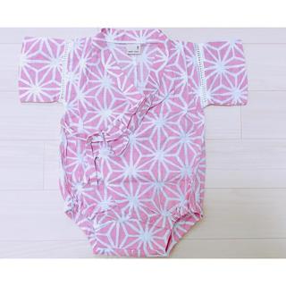 プティマイン(petit main)の甚平 70サイズ ⑅⿻(甚平/浴衣)