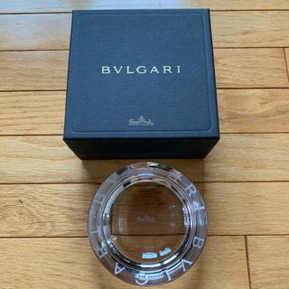 ブルガリ(BVLGARI)の未使用☆ブルガリ   灰皿  ☆ガラス  小物入れ(灰皿)