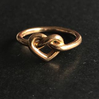 スタージュエリー(STAR JEWELRY)のStar Jewelry スタージュエリー ハートリング 18K(リング(指輪))