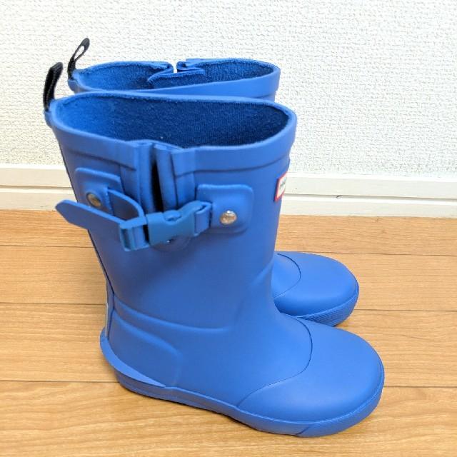 HUNTER(ハンター)のHUNTER ハンター キッズ 長靴 レインブーツ UK9/16.5センチ キッズ/ベビー/マタニティのキッズ靴/シューズ (15cm~)(長靴/レインシューズ)の商品写真