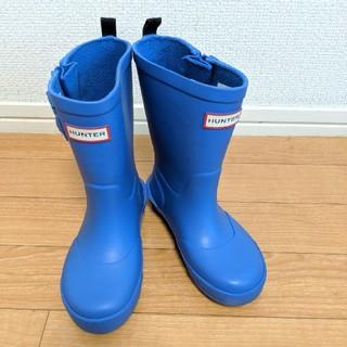 ハンター(HUNTER)のHUNTER ハンター キッズ 長靴 レインブーツ UK9/16.5センチ(長靴/レインシューズ)