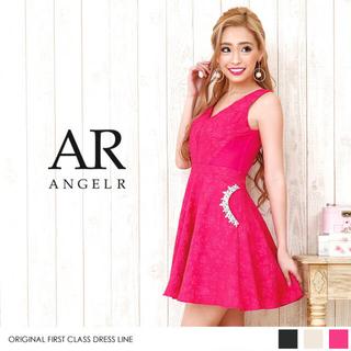 a6ba9345c89e4 エンジェルアール(AngelR)のAR エンジェルアール フレア ドレス ピンク 美品 S(
