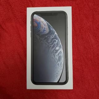 iPhone XR 64GB ブラック SIMロック解除済み