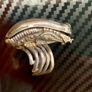 エイリアン 銀製 シルバー リング フリー サイズ  クロムハーツ ガボール