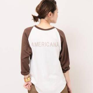 L'Appartement DEUXIEME CLASSE - AMERICANA BASE BALL Tシャツ ♢♢