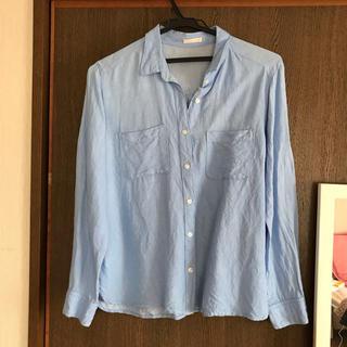 ジーユー(GU)の【GU】ブルーシャツ(シャツ/ブラウス(長袖/七分))