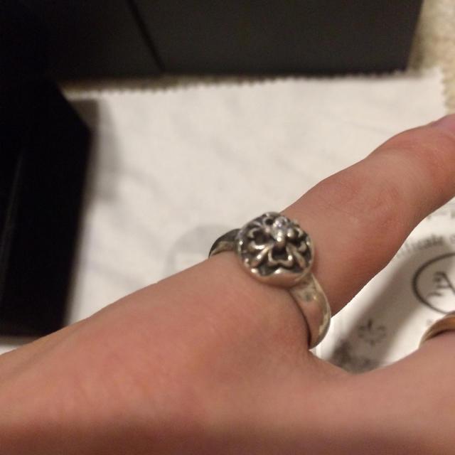 Chrome Hearts(クロムハーツ)の夏にオススメ☆元クロムハーツデザイナーA&G クロムハーツ純銀 リング  メンズのアクセサリー(リング(指輪))の商品写真