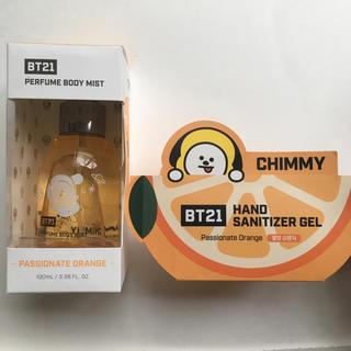防弾少年団(BTS) - 【BTS】 韓国限定 bt21 ハンドジェル & ボディミスト オリーブヤング