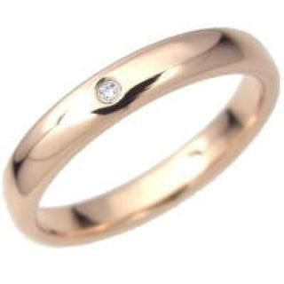 タングステンリング ピンクゴールド ジルコニア 指輪(リング(指輪))