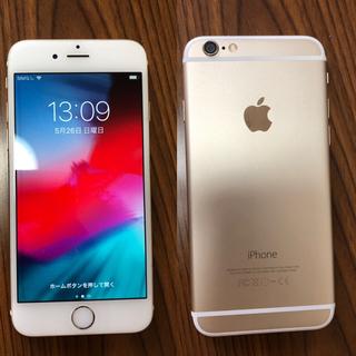 iPhone - iPhone 6 docomo 128GB 中古 ゴールド