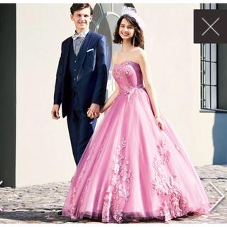 f715253c11622 エメ(AIMER)のAIMER ピンク カラードレス+パニエのお得なセット