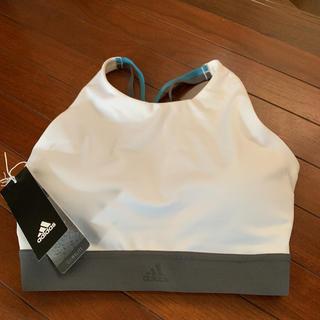 アディダス(adidas)のadidasスポーツブラジャー 細身でバストの豊かな方に(ヨガ)