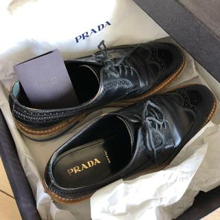 プラダ(PRADA)のプラダ  エスパドリーユ(ローファー/革靴)