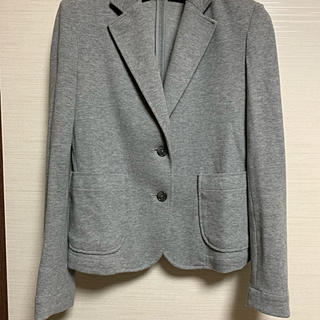 ムジルシリョウヒン(MUJI (無印良品))の無印のグレーのジャケット(テーラードジャケット)