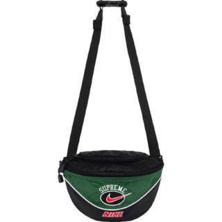 シュプリーム(Supreme)のSupreme®/Nike® Shoulder Bag グリーン 緑(ウエストポーチ)