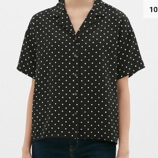 GU ドットオープンカラーシャツ