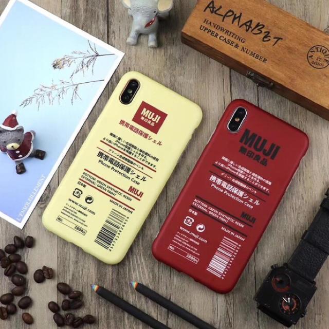 無印良品 デザイン iPhoneケース シンプル 全2種の通販 by るり's shop|ラクマ