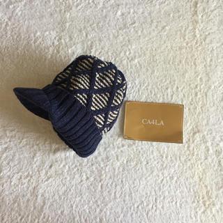 カシラ(CA4LA)の新品 カシラ CA4LA ニット 帽子 (ニット帽/ビーニー)