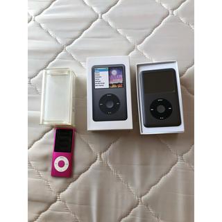 アップル(Apple)のiPod classic(160GB)iPod nano(8GB)セット(ポータブルプレーヤー)