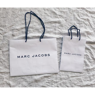 マークジェイコブス(MARC JACOBS)の✩⋆*॰MARC JACOBS ショッパー大小 2点セット⋆。˚✩(ショップ袋)