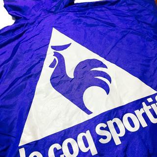 ルコックスポルティフ(le coq sportif)のルコック ゴルフ ピステ 青 ビッグロゴ フード付き L(ウエア)