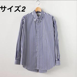 ワンエルディーケーセレクト(1LDK SELECT)の【新品 サイズ2】graphpaperボタンダウンシャツ thomasmason(シャツ)