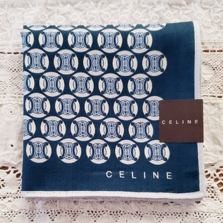 セリーヌ(celine)のCELINE セリーヌ ハンカチ 新品(ハンカチ/ポケットチーフ)