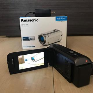 Panasonic - 美品 Panasonic ビデオカメラ HC−W570M