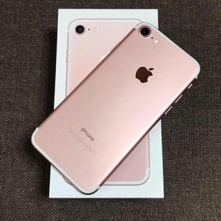 iPhone - 良美品 iPhone 7 Rose Gold 32GB SIMフリー