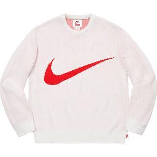 シュプリーム(Supreme)のSUPREME NIKE Swoosh Sweater(ニット/セーター)