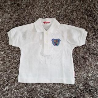 ミキハウス(mikihouse)の未使用 ミキハウス ポロシャツ 80(シャツ/カットソー)