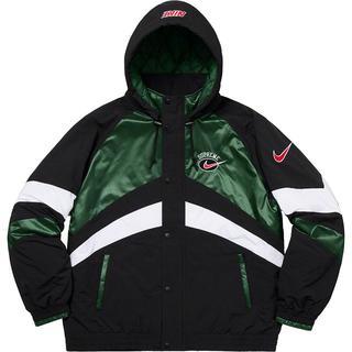 Supreme - XL Supreme Nike Hooded Sport Jacket 緑