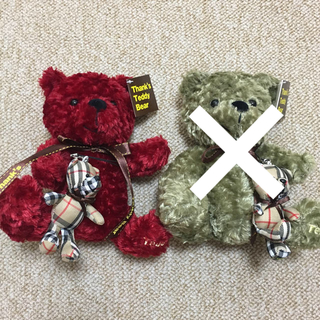 Thank's Teddy Bear(ぬいぐるみ)