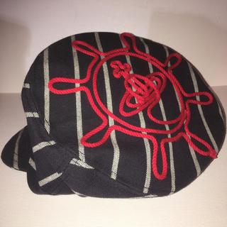 ヴィヴィアンウエストウッド(Vivienne Westwood)のvivienne  westwood マリンタイプのキャスケットM 帽子used(キャスケット)