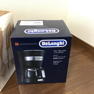 DeLonghi - 【新品】デロンギ ドリップコーヒーメーカー ICM14011J