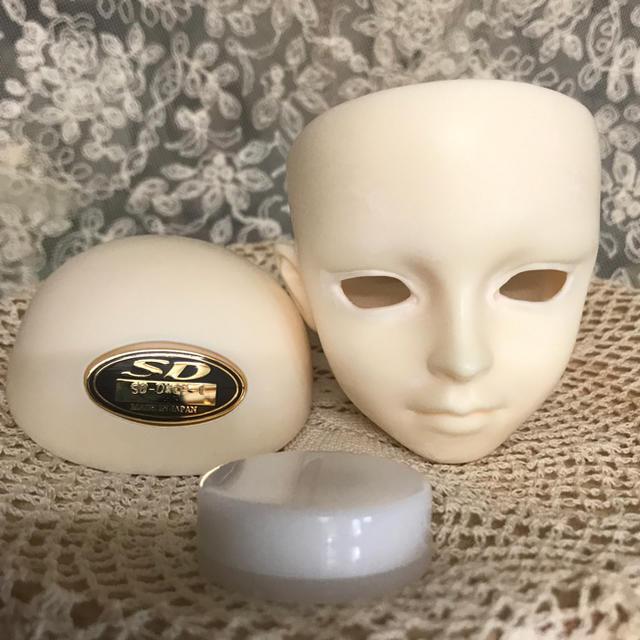 VOLKS(ボークス)のDWC#01ヘッド pホワイト 磁石付き エンタメ/ホビーのおもちゃ/ぬいぐるみ(その他)の商品写真