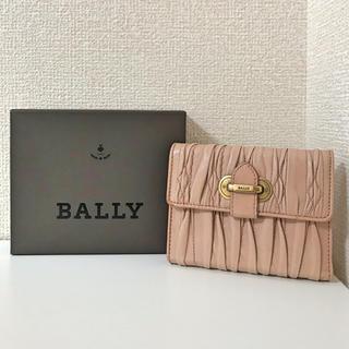 b565cde970c5 Bally - バリー 二つ折り財布 ロゴ柄 メンズ レディース ユニセックス 本 ...