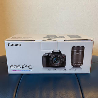 Canon - CANON EOS Kiss X9i(W) ダブルズームキット 新品未開封