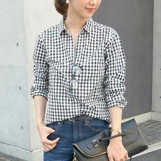 ドアーズ(DOORS / URBAN RESEARCH)のコットンシャツ(シャツ/ブラウス(長袖/七分))