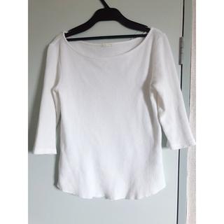 ジーユー(GU)のGUジーユー ワッフルTシャツS(Tシャツ(長袖/七分))
