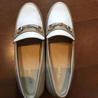 ヴェリココ(velikoko)のVelikoko パンプスローファー24cm☆ほぼ未使用(ローファー/革靴)